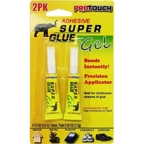 Case of [48] Adhesive Super Glue Gel - 2 Pack