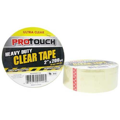 Case of [24] Heavy Duty Clear Tape