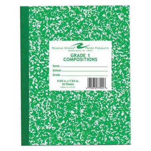 Case of [144] Roaring Springs Grade 1 Composition Book