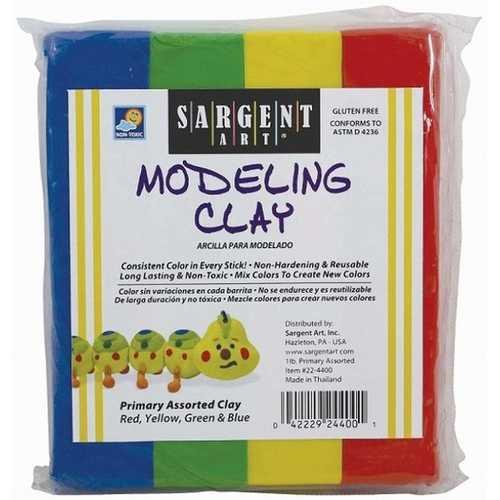 Case of [12] 1 lb. Clay Assortment