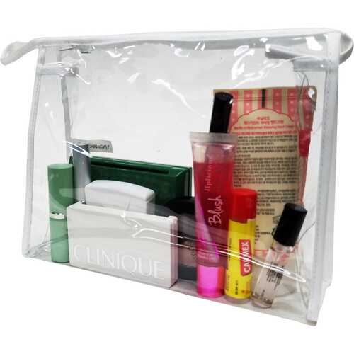 Case of [200] Clear Cosmetic Bag