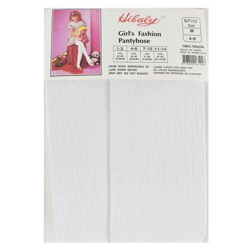 Case of [114] Girls' Opaque Tights. Color: White, M-XL