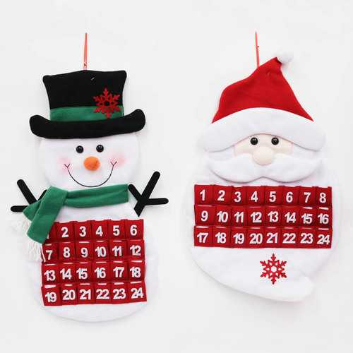 Case of [12] Children's Christmas Countdown Calendar