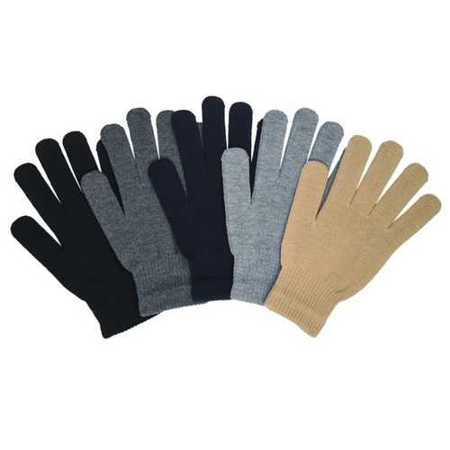Case of [120] Adults Wholesale Winter Magic Gloves ( Assorted Co