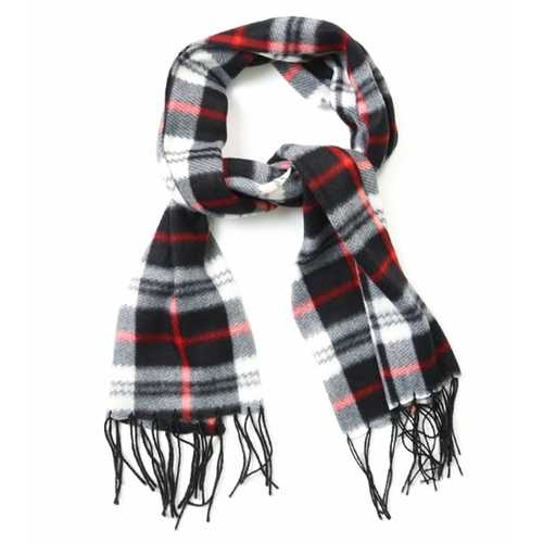 Case of [48] Adult Plaid Winter Scarves