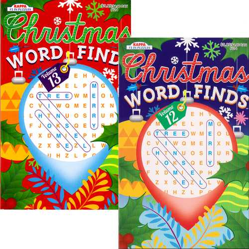 Case of [48] Christmas Word-Finds