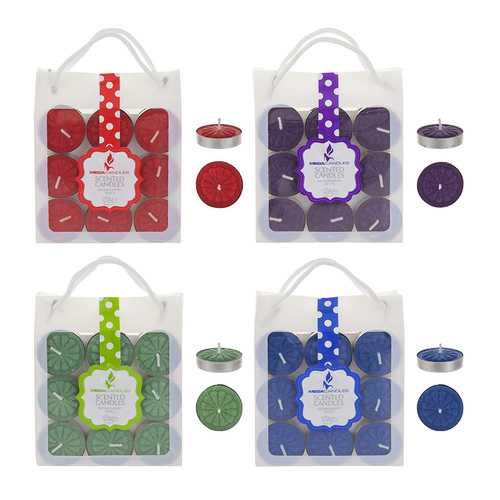 Case of [48] Scented Tea Light Candle - 18 Count