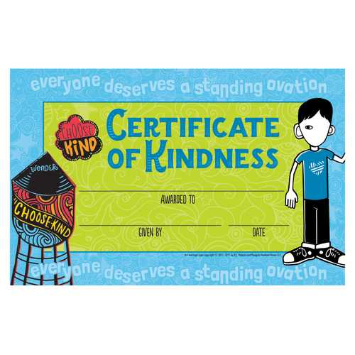 Case of [72] Wonder Award Certificate - 36 Count