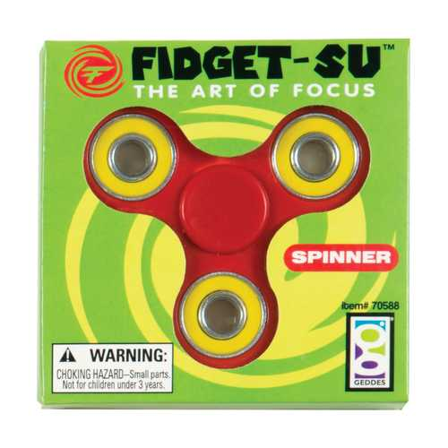 Case of [12] Fidget-Su Spinnerz - 12 Count