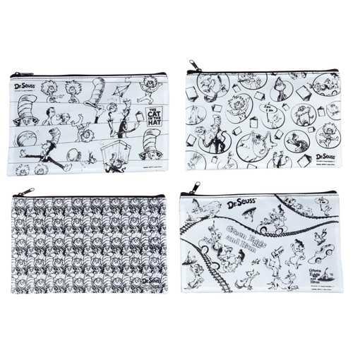 Case of [12] Dr Seuss Color It Pencil Pouch - 12 Count