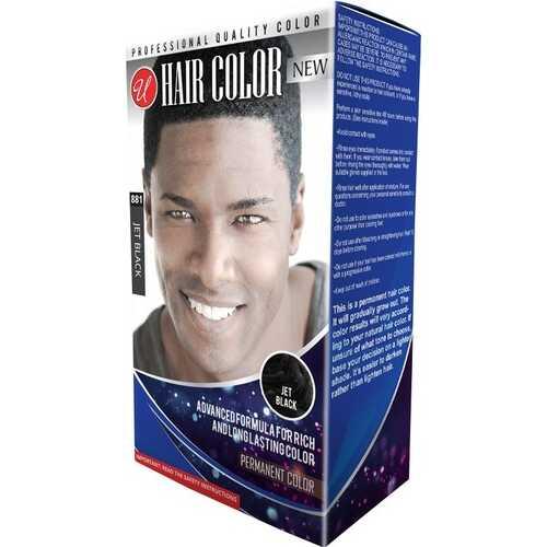 Case of [48] Professional Quality Men's Hair Color - Jet Black