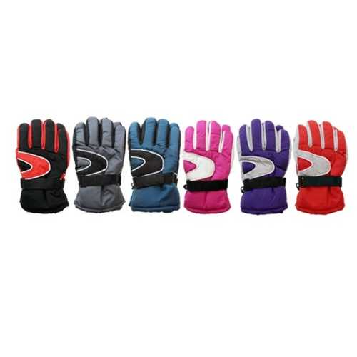 Case of [120] Kids' Waterproof Ski Gloves