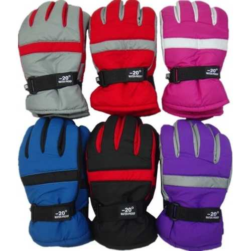 Case of [120] Women's Waterproof Ski Gloves