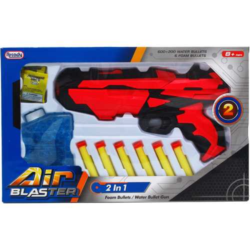 "Case of [12] 11.25"" Toy Soft Foam Gun With Accessories"