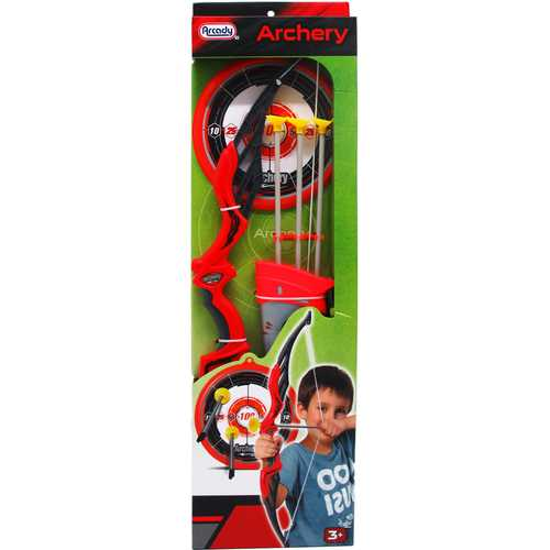 """Case of [12] 26.25"""" Super Archery Play Set with Arrow Case"""