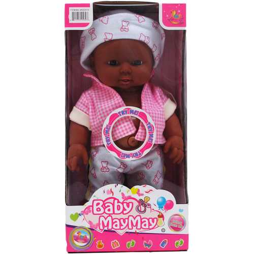 """Case of [12] 11"""" Battery Operated Ethnic Baby Doll"""