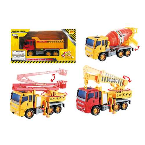 Case of [48] Friction Construction Vehicle (4 Asstd)