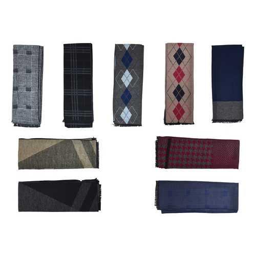 Case of [24] Men's Winter Scarves - Assorted Designs