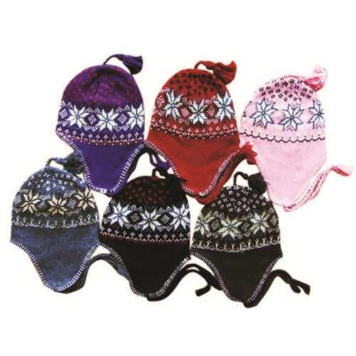 Case of [120] Ear Cover Knit Hats