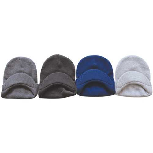 Case of [120] Assorted Beanies with Visor for Adults