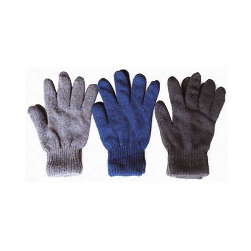 Case of [120] Men's Knit Gloves - Assorted Solid Colors