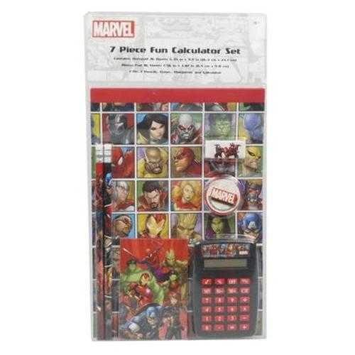 Case of [12] Calculator Set 7 Piece Marvel Univese