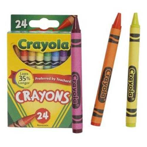 Case of [100] Crayon 24 Count Thank a Teacher