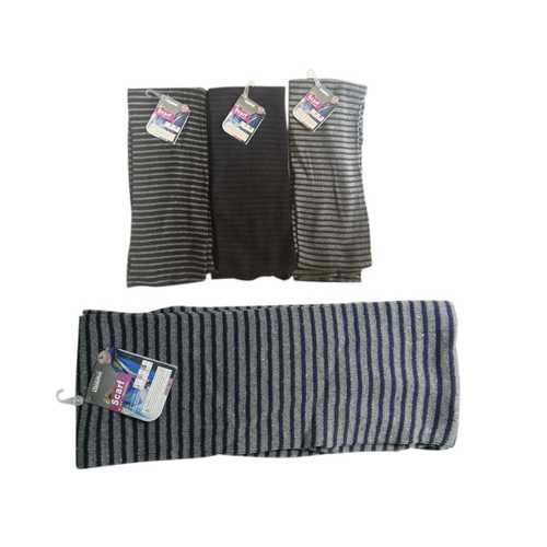 Case of [12] Adult Winter Scarves - Assorted Stripes