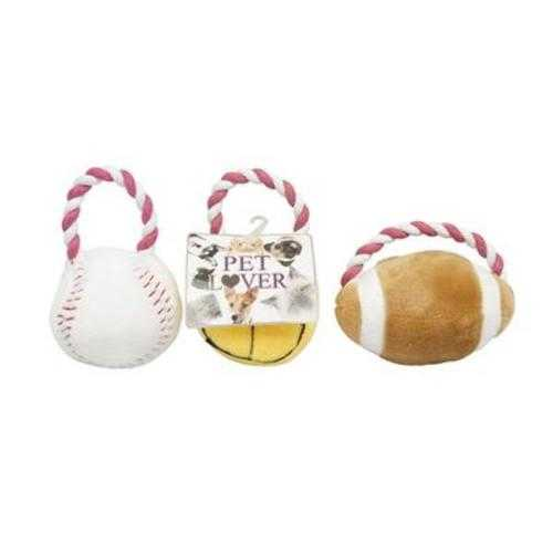 Case of [48] Pet Toy Sports 3 Assorted