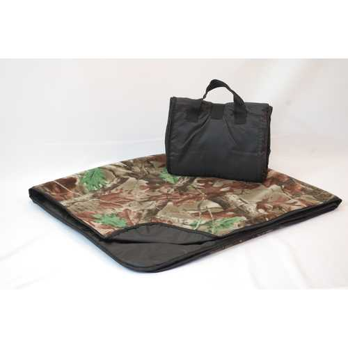 """Case of [24] Waterproof Outdoor Picnic Blankets 50"""" x 60"""" - Camouflage"""