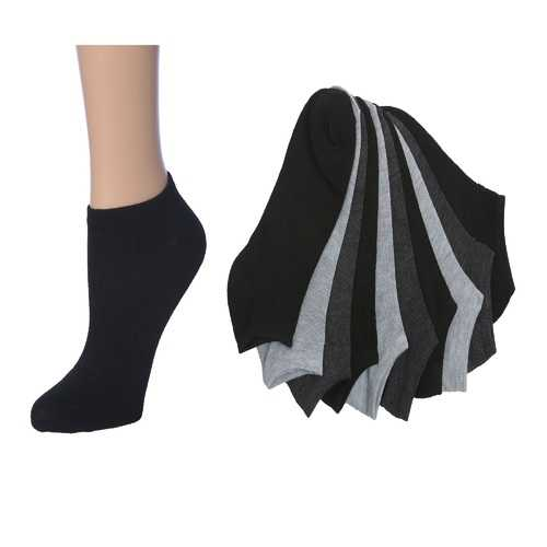 Case of [36] Women's Solid No Show Socks 10-Pack - 9-11