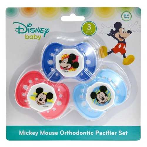Case of [144] Mickey 3 Pack Pacifier