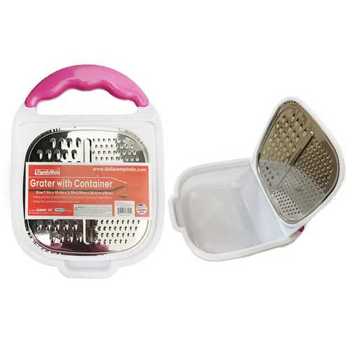 Case of [12] Grater With Container