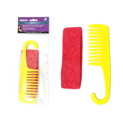 Case of [24] Hair Band & Comb Set
