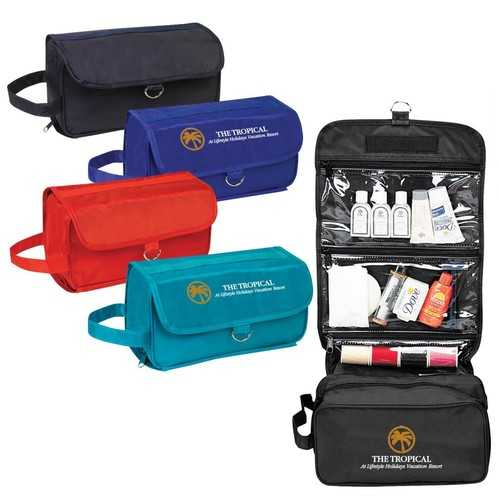 Case of [50] Hanging Toiletry Bag - Teal