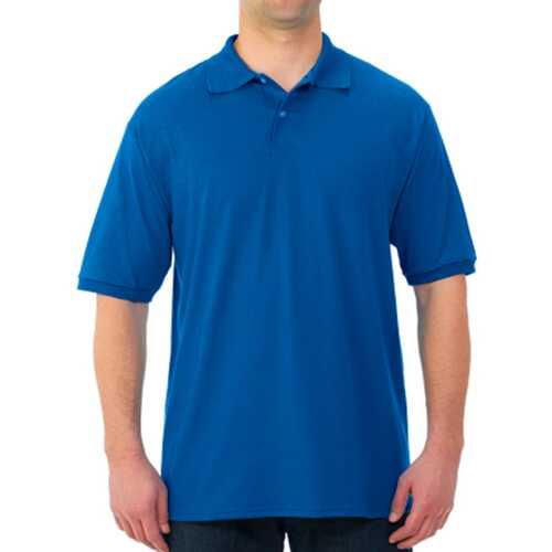 Case of [12] Jerzees Irregular Polo Shirts - Royal Blue - XL