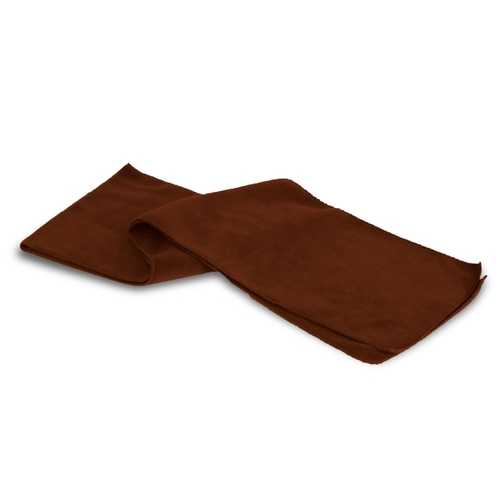 Case of [48] Heavy Weight Fleece Scarves - Cocoa