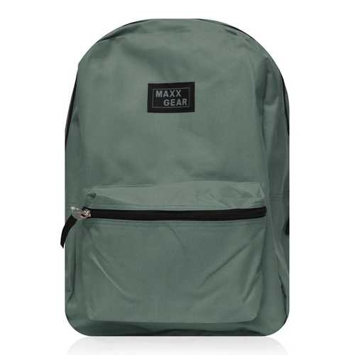 """Case of [24] 18"""" Maxx Gear Basic Backpack - Green"""
