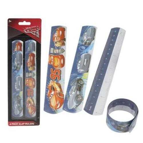 Case of [48] 4-piece Cars Slap Bracelet Ruler