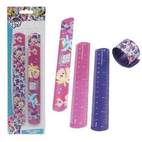 Case of [48] 4-piece My Little Pony Slap Bracelet Ruler