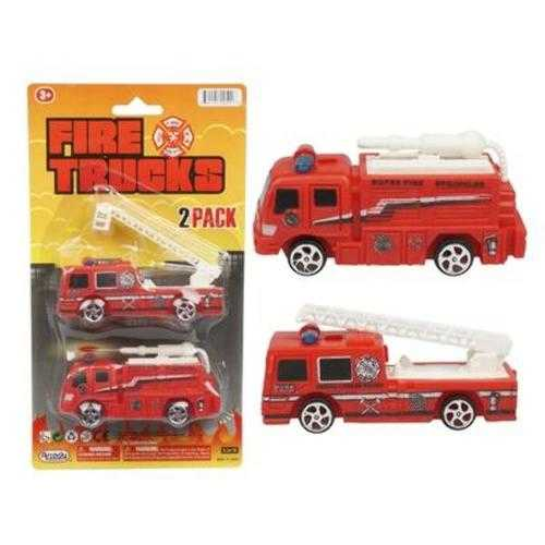 Case of [72] 2pc Fire Rescue Truck Set