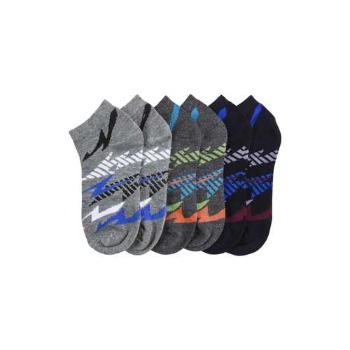 Case of [144] Kids' Spandex Socks with Thunder Design (size 4-6)