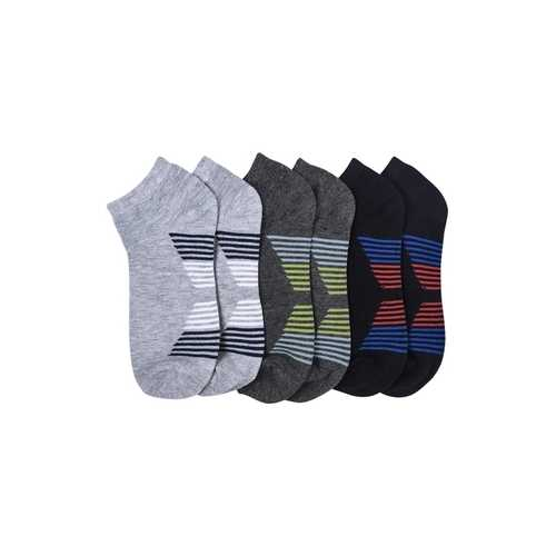 Case of [144] Kids' Spandex Socks with Design (size 4-6)