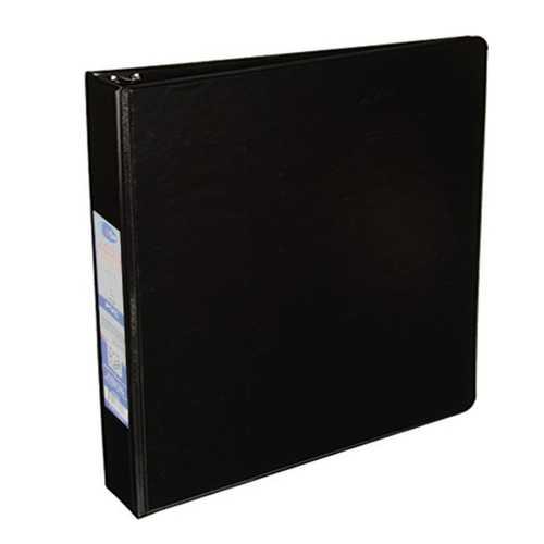 """Case of [24] 3-Ring Binder, 2 Pockets - 1.5"""" - Black"""