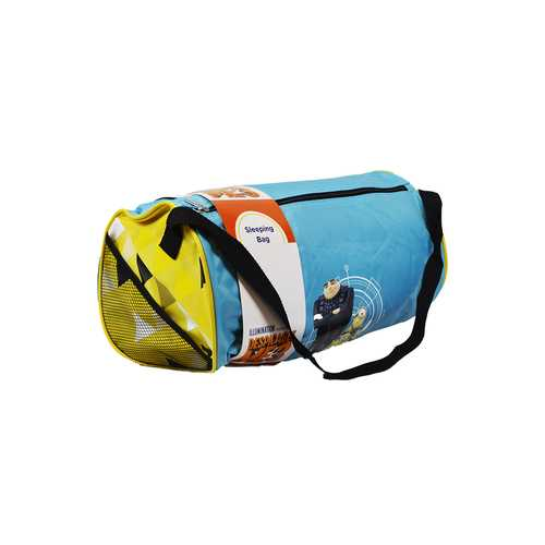 Case of [2] Despicable Me 3 - 2 Piece. Overnight Duffle/Sleeping Bag Kit