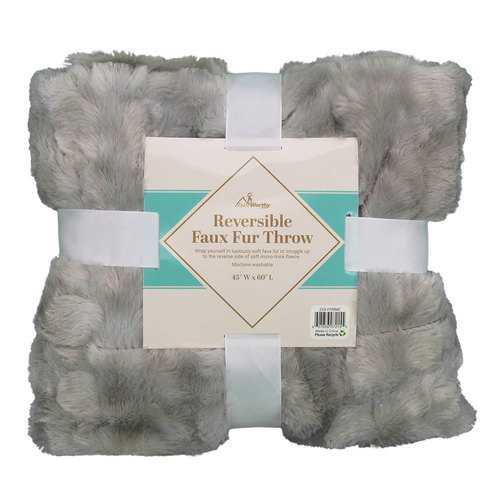 Case of [10] TrailWorthy Faux Fur Micro Mink Blanket - Coyote