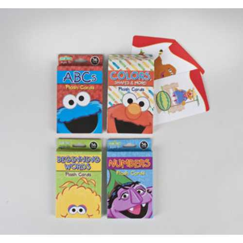 Case of [108] Sesame Street Flashcards