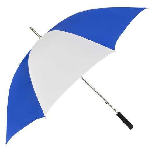 "Case of [24] 60"" Golf Umbrella - Blue/White"