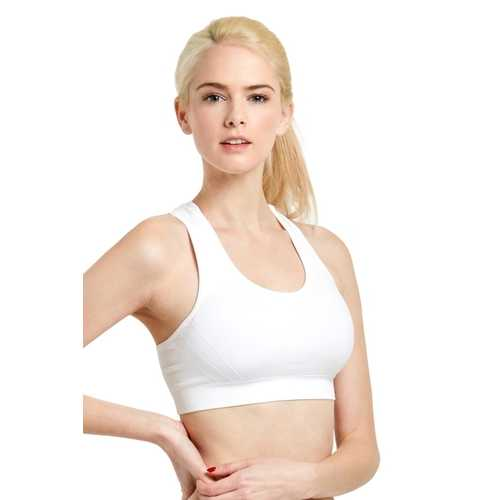 Case of [18] Seamless Racerback Padded Sports Bra