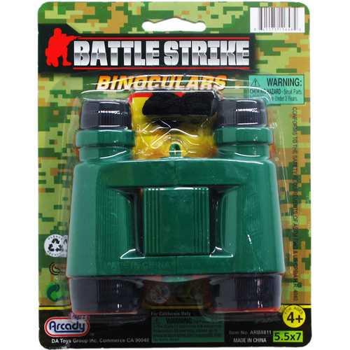 "Case of [48] 4.25"" Toy Military Binoculars"